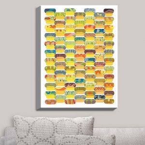 Decorative Canvas Wall Art | Marci Cheary - Ovals