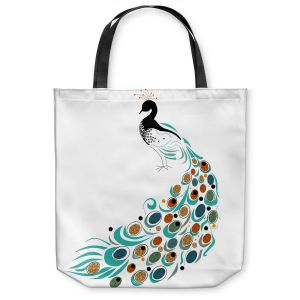 Unique Shoulder Bag Tote Bags   Marci Cheary Peacock II