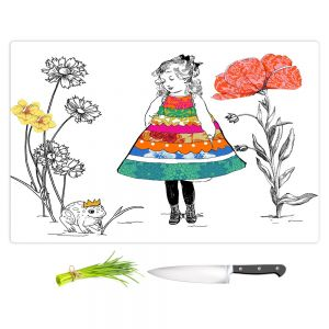 Artistic Kitchen Bar Cutting Boards | Marci Cheary - Princess
