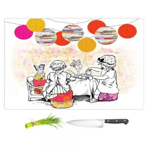 Artistic Kitchen Bar Cutting Boards | Marci Cheary - Time for Tea