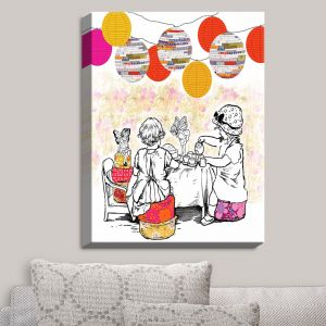 Decorative Canvas Wall Art | Marci Cheary - Time for Tea