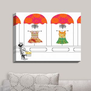 Decorative Canvas Wall Art | Marci Cheary - Window Shopping