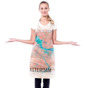 Artistic Bakers Aprons   Markus Bleichner - Amsterdam Netherlands Map   Maps Cities Travel
