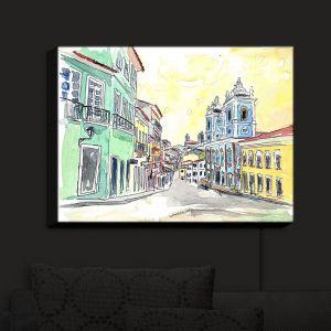 Nightlight Sconce Canvas Light   Markus Bleichner - Bahia Brazil
