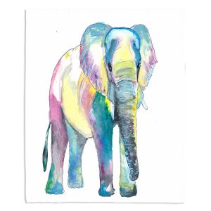Decorative Fleece Throw Blankets | Markus Bleichner - Big Elephant | Animals Elephant