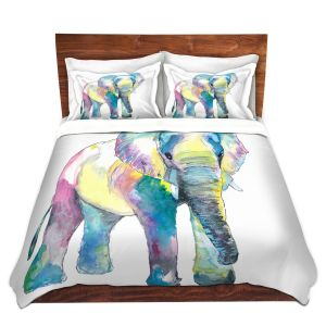 Artistic Duvet Covers and Shams Bedding | Markus Bleichner - Big Elephant | Animals Elephant