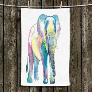 Unique Hanging Tea Towels | Markus Bleichner - Big Elephant | Animals Elephant