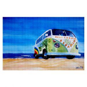 Decorative Floor Coverings | Markus Bleichner California Dreaming VW Bus