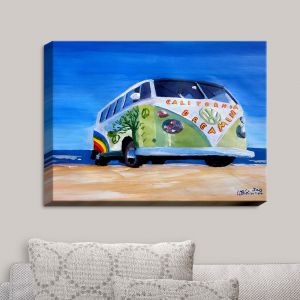 Decorative Canvas Wall Art | Markus Bleichner - California Dreaming VW Bus