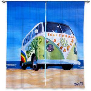 Decorative Window Treatments | Markus Bleichner California Dreaming VW Bus