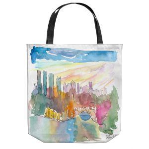 Unique Shoulder Bag Tote Bags   Markus Bleichner - Central Park View 1   Park Cities Trees