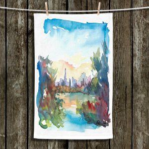 Unique Hanging Tea Towels | Markus Bleichner - Central Park View 2 | Park Cities Trees