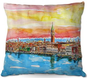 Throw Pillows Decorative Artistic | Markus Bleichner - Fabulous Venice Italy Alps ll