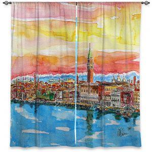 Decorative Window Treatments | Markus Bleichner - Fabulous Venice Italy Alps ll