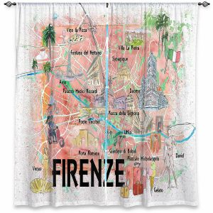 Decorative Window Treatments | Markus Bleichner - Florence Italy Map | Cities Maps Countries