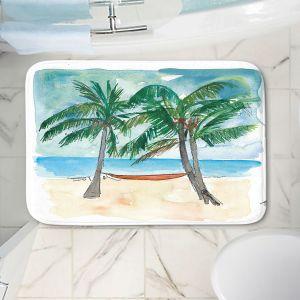 Decorative Bathroom Mats   Markus Bleichner - Florida Keys Hammock   Beach Ocean Landscape Trees