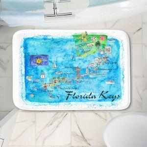 Decorative Bathroom Mats | Markus Bleichner - Florida Keys Map | Maps States