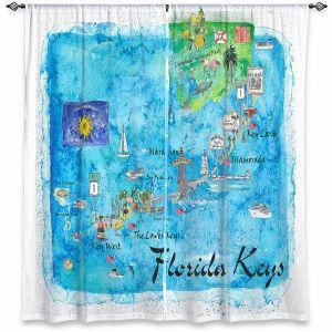 Decorative Window Treatments | Markus Bleichner - Florida Keys Map | Maps States