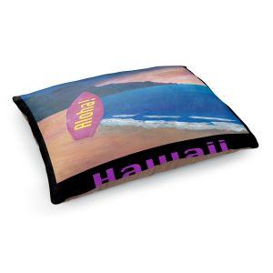 Decorative Dog Pet Beds | Markus Bleichner - Hawaii Surfboard | coast beach waves summer surfing