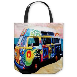 Unique Shoulder Bag Tote Bags | Markus Bleichner Here Comes the Sun Volkswagon