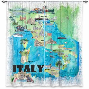 Decorative Window Treatments | Markus Bleichner - Italy Tourist Map 2 | Maps Cities Countries Travel