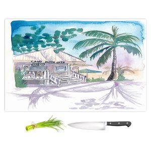 Artistic Kitchen Bar Cutting Boards | Markus Bleichner - Key West House 1 | Building Beach Ocean Trees