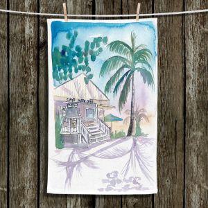 Unique Hanging Tea Towels | Markus Bleichner - Key West House 1 | Building Beach Ocean Trees