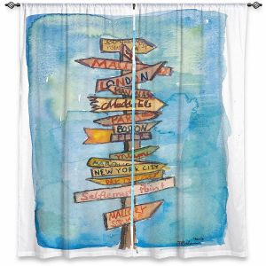 Decorative Window Treatments | Markus Bleichner - Key West Sign Post | City Travel