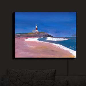 Nightlight Sconce Canvas Light | Markus Bleichner - Lighthouse 1