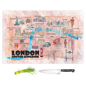 Artistic Kitchen Bar Cutting Boards | Markus Bleichner - London UK Tourist 1 | Countries Cities Travel