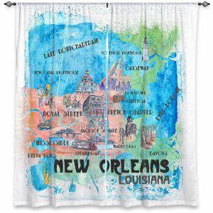 Decorative Window Treatments | Markus Bleichner - New Orleans Map | Cities Travel