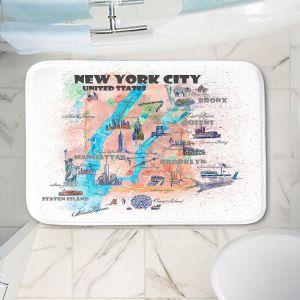 Decorative Bathroom Mats | Markus Bleichner - New York Tourist 4 | Cities Travel