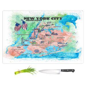 Artistic Kitchen Bar Cutting Boards | Markus Bleichner - New York Tourist 5 | Cities Travel