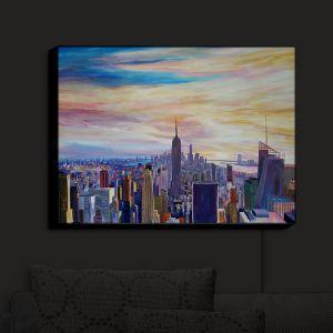 Nightlight Sconce Canvas Light   Markus Bleichner - NYC Chrysler Empire   NYC City Empire State Building