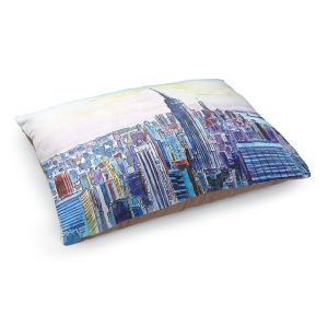 Decorative Dog Pet Beds | Markus Bleichner - NYC Manhattan Skyline