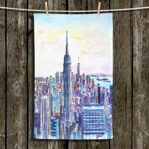 Unique Bathroom Towels | Markus Bleichner - NYC Manhattan Skyline