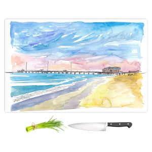 Artistic Kitchen Bar Cutting Boards | Markus Bleichner - Outer Banks NC | Beach Ocean Landscape Trees