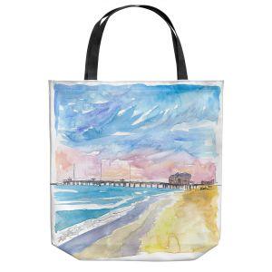 Unique Shoulder Bag Tote Bags | Markus Bleichner - Outer Banks NC | Beach Ocean Landscape Trees