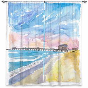 Decorative Window Treatments | Markus Bleichner - Outer Banks NC | Beach Ocean Landscape Trees