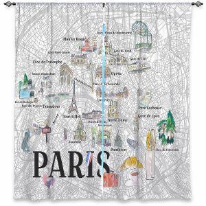 Decorative Window Treatments | Markus Bleichner - Paris Love Map 2 | Cities Maps Travel