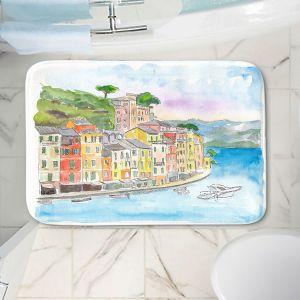 Decorative Bathroom Mats   Markus Bleichner - Portofino 2   Cities Countries Beach