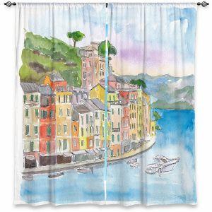 Decorative Window Treatments | Markus Bleichner - Portofino 2 | Cities Countries Beach