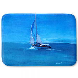Decorative Bathroom Mats | Markus Bleichner - Sailing Into The Blue l