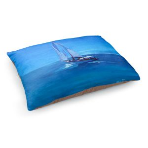 Decorative Dog Pet Beds | Markus Bleichner - Sailing Into The Blue l