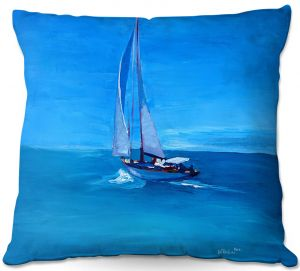Throw Pillows Decorative Artistic | Markus Bleichner - Sailing Into The Blue l