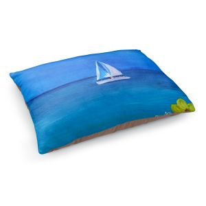 Decorative Dog Pet Beds | Markus Bleichner - Sailing Into The Blue ll