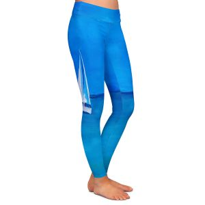 Casual Comfortable Leggings | Markus Bleichner - Sailing Into The Blue ll