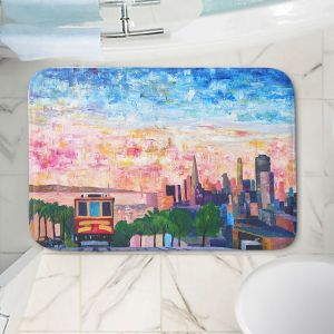 Decorative Bathroom Mats   Markus Bleichner - San Francisco Scene   Cities Trains