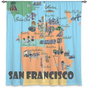 Decorative Window Treatments | Markus Bleichner - San Francisco Tourist 3 | map city simple