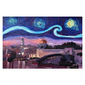Decorative Floor Coverings | Markus Bleichner - Starry Night Jerusalem | Starry Night Jerusalem